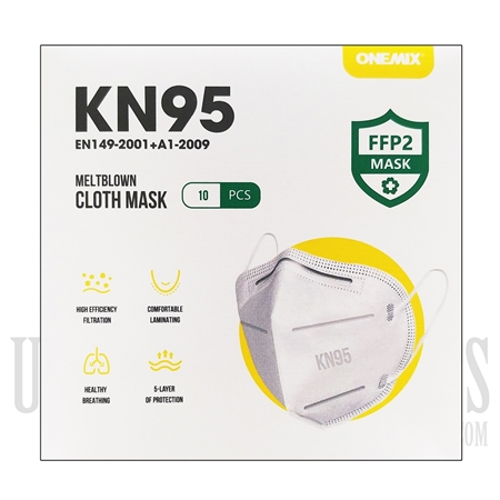 FM-101 Face Mask KN95 | 5 Layers | 10 Per Pack