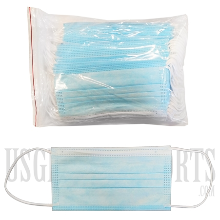 FM-102 Disposable Face Mask  | 3 Layers | 50 Per Pack