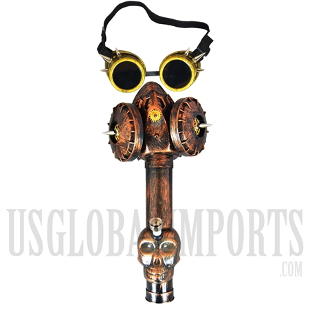 GM-06 Steam Punk Gas Mask + Water Pipe