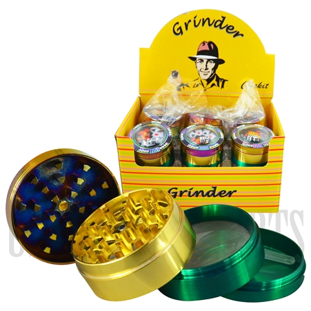 GR-1052 Clickit Gambling Grinder. 50mm + 4 Parts