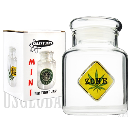 "JAR-5-12 3.5"" Mini Air Tight Jar by Galaxy Jars - Weed Zone"