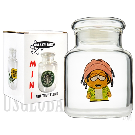 "JAR-5-8 3.5"" Mini Air Tight Jar by Galaxy Jars - Stonepark"