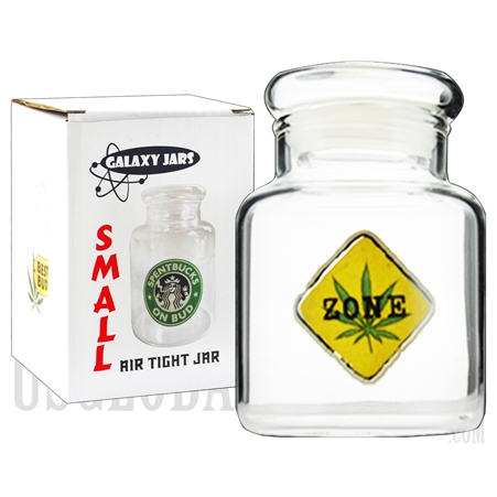 "JAR-6-12 3.75"" Small Air Tight Jar by Galaxy Jars - Weed Zone"