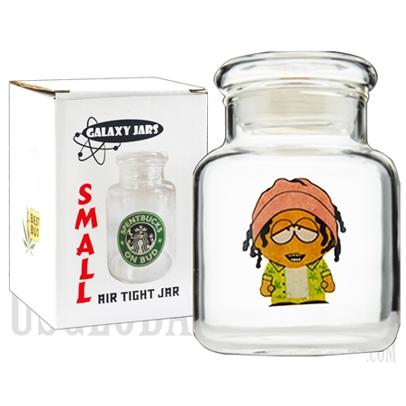 "JAR-6-8 3.75"" Small Air Tight Jar by Galaxy Jars - Stonepark"