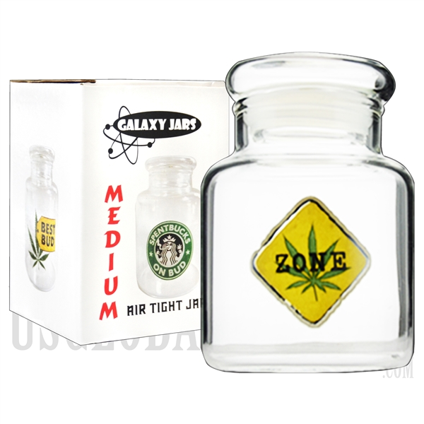 "JAR-7-12 4"" Medium Air Tight Jar by Galaxy Jars - Weed Zone"