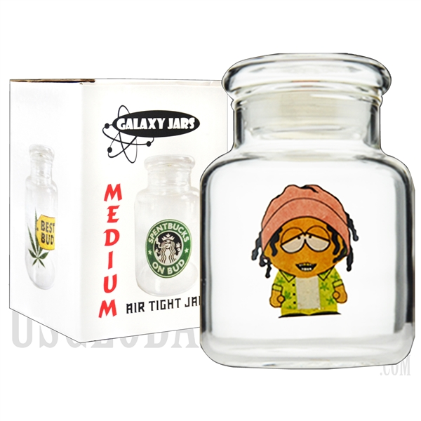"JAR-7-8 4"" Medium Air Tight Jar by Galaxy Jars - Stonepark"