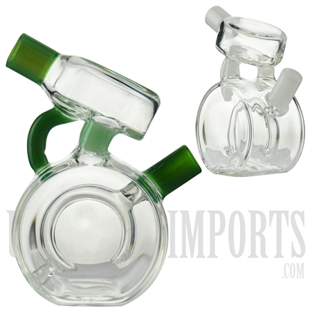 "JX-2 4.5"" Joint/ Blunt Bubbler + Ring Filter + Color"