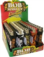 li-01 BOB MARLEY CURVE LIGHTERS/50 CT