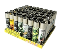 LT-24 Clipper Lighters 49ct (Multiple Designs)