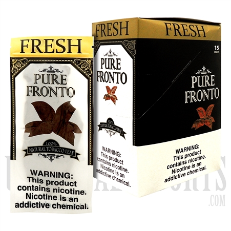 PF-103 Pure Fronto Leaf | 100% Natural Tobacco Leaf | 15 Pouches