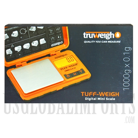 SC-123 Truweight 1000g x 0.1g. TUFF-1000-1-OR