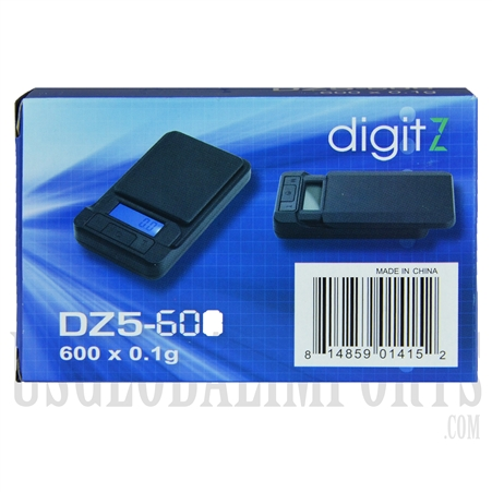 SC-126 digitZ Pocket Scale 600 x 0.1g - DZ5-600