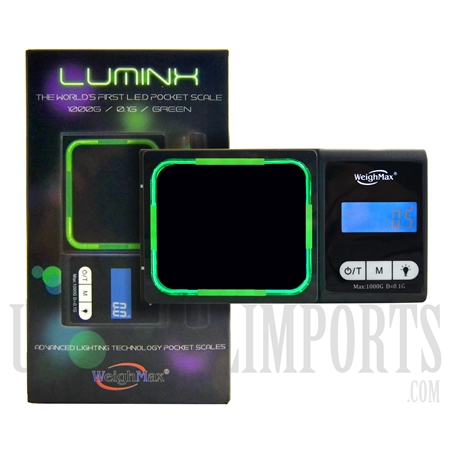 SC-128 1000g LED Digital Light Scale by Luminx. Black
