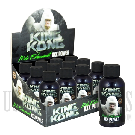 SS-47 King Kong XXX Power Male Sexual Performance Enhancement Drink. 12ct. 2oz. Bottles