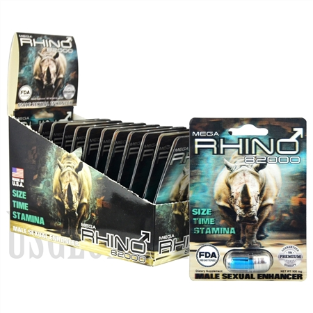 SS-59 Mega Rhino - 82000 - 24ct 500mg Each Pill. FDA Registered