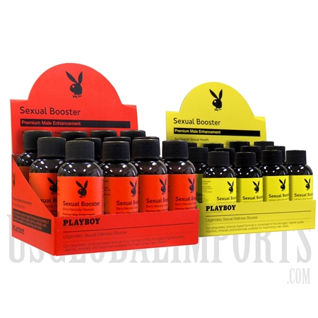 SS-69 Playboy Sexual Booster Male Enhancement Drink | 12ct | 57ml | 2 Flavor Options