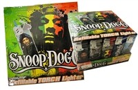 T-117 Snoop Dogg Refillable Torch Lighters Display