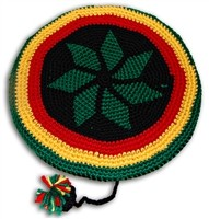 V-13 RASTA HAT KNITTED