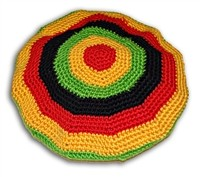 V-18 RASTA KNITTED ROUND HAT