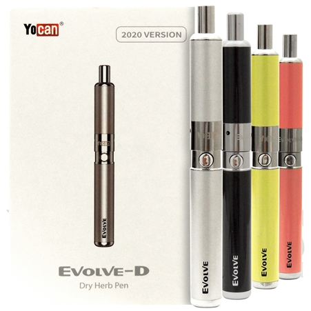 VPEN-4830 Yocan Evolve-D Dry Herb Pen | 2020 Version | Many Color Options