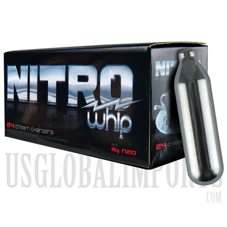 WI-03 Nitro Cream Chargers | 25 Boxes | 24pcs each box
