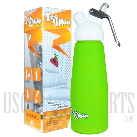 WI-06 Ice Whip Cream Dispenser. Half Liter. Green