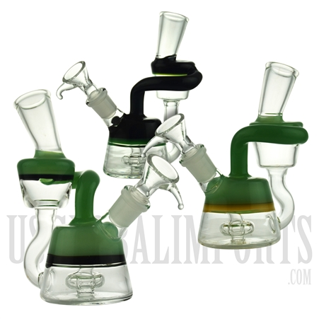 "WP-N9181 5"" Water Pipe + Stemless + Recycler Arm + Showerhead + Color Design"