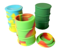 WXC-10 Barrel Silicone Wax Container (Assorted)