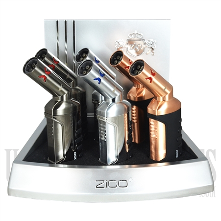 ZD-51 Zico Torch Lighter 4 Flames. Adjustable Tip.