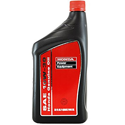 Honda High Performance Oils and Lubricants SAE 10W-30 1 Quart Small Engine Oil 08207