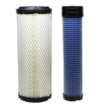 Kawasaki OEM Air Filter Element Inner & Outer Fits: FX651, FX691, FX730, FX751, FX801, FX850, FX921, FX1000 11013-7044, 11013-7045