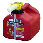 Gas Can 1-1/4 Gallon Poly CARB Compliant Fuel Canister