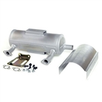 Kohler Canister Muffler Kit Low Mount Muffler Filter Side Straight Outlet 2478611S