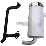 Kohler Oil Filter Side Vertical Mount Muffler Kit 3278603S