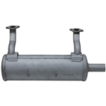 Brand New Kawasaki Horizontal Low Mount Muffler Fits: FS, FR, FX Series 481V, 541V, 600V (603cc Engines) 49070-0881