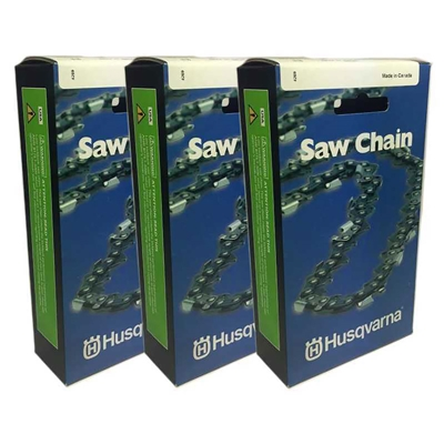 Husqvarna 501840666 Chainsaw Chain 3 pack