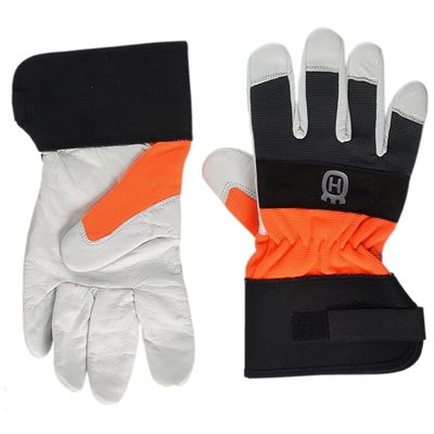 Husqvarna 579379910 Classic Heavy Duty Leather Work Gloves