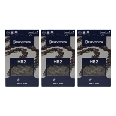 Husqvarna 591139993 Chainsaw Chain 3 pack