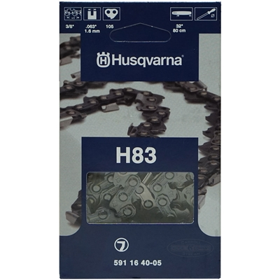 "Genuine Husqvarna OEM Chainsaw 32"" Chain 3/8"" Pitch x .063 Gauge 105 Drive Links 591 16 40-05, 591164005, 5018468-05, 501846805"