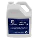 Husqvarna OEM Bar & Chain Oil 1 Gallon (3.785 Liters) 610000158