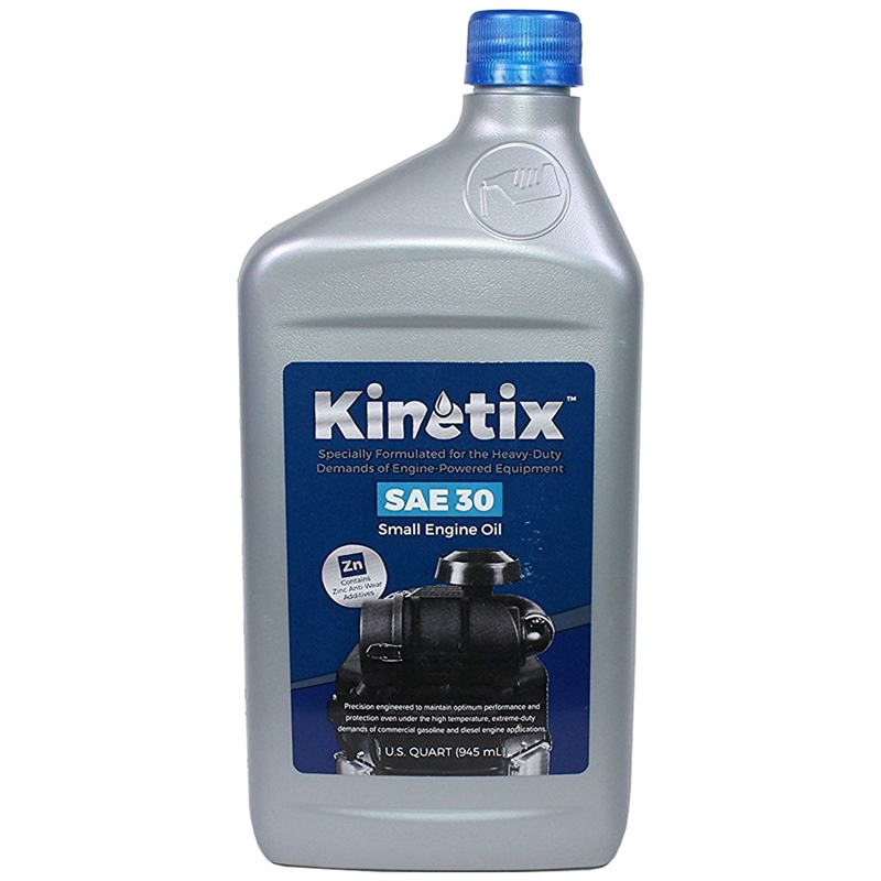 Sae 30 Oil >> Kinetix High Performance Oils And Lubricants Sae 30 1 Quart Small Engine Oil