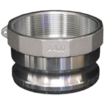 "BE Pressure Adapter, 4"" Female Npt 90.390.400"