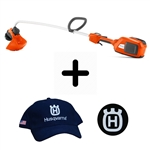 Husqvarna 336LiC Curved Shaft Battery Powered Trimmer 967608112
