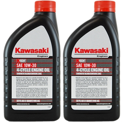 Kawasaki High Performance 4 Cycle Engine Oil 999696081
