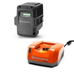 Husqvarna OEM Battery And Charger QC330 & BLi200