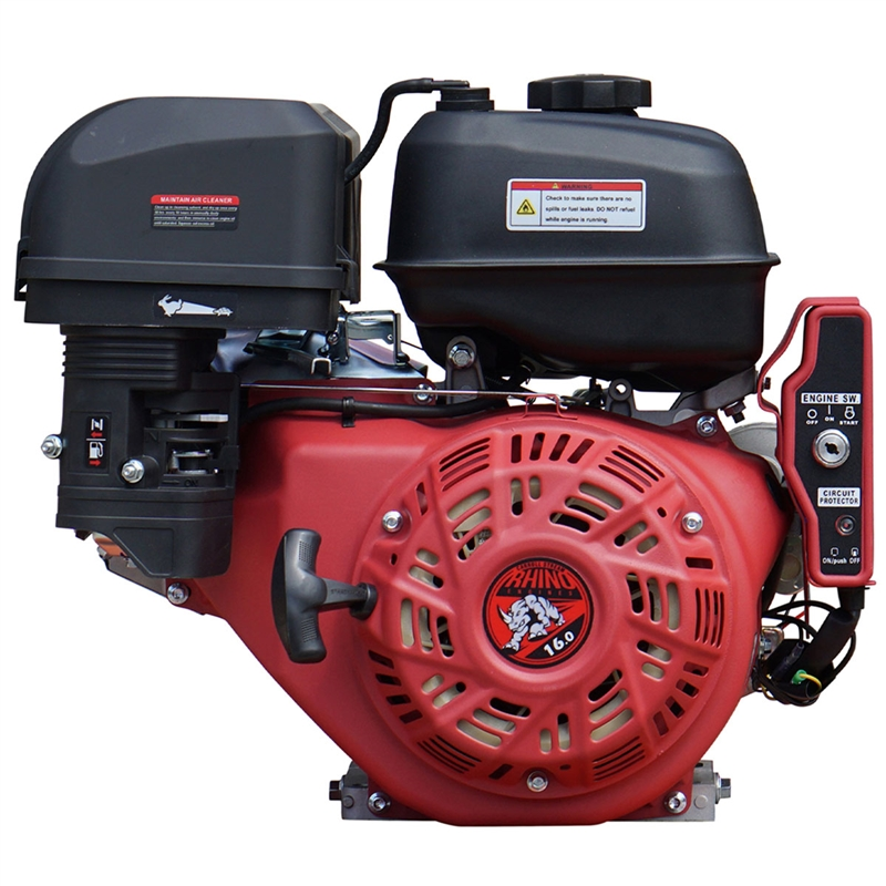 16 Hp Gas Engine With Electric Start B 16hp 1 Shaft Wfree Extra Air Filter
