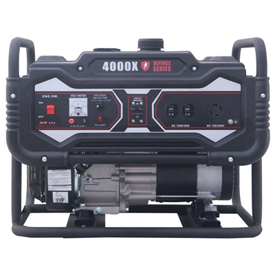 Carroll Stream CS4000X - 4250 Watt  Defense Series Inverter Generator CS4000X