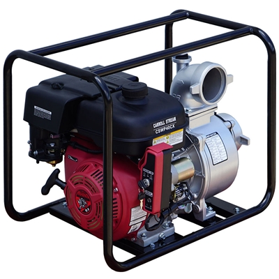 4 inch gas water pump
