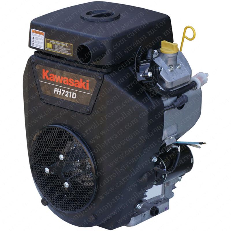 Kawasaki Horizontal Shaft 25-Horsepower Motor | FH721D-S01