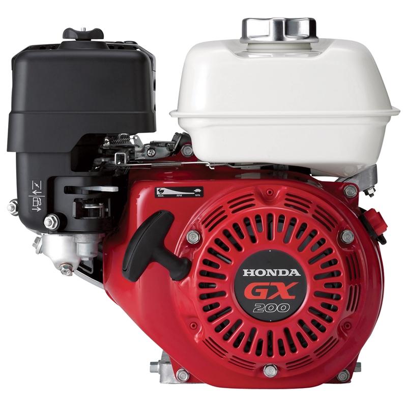 Honda Small Engines >> Honda Gx200 Gas Engine Recoil Start 3 4 Straight Side Shaft Gx200ut2 Qx2
